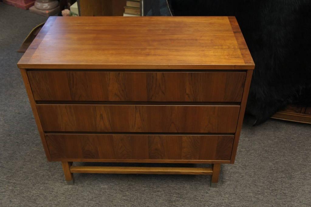 Vintage Stanley Danish Mid Century Modern Distinctive Furniture 3 Drawer  Dresser
