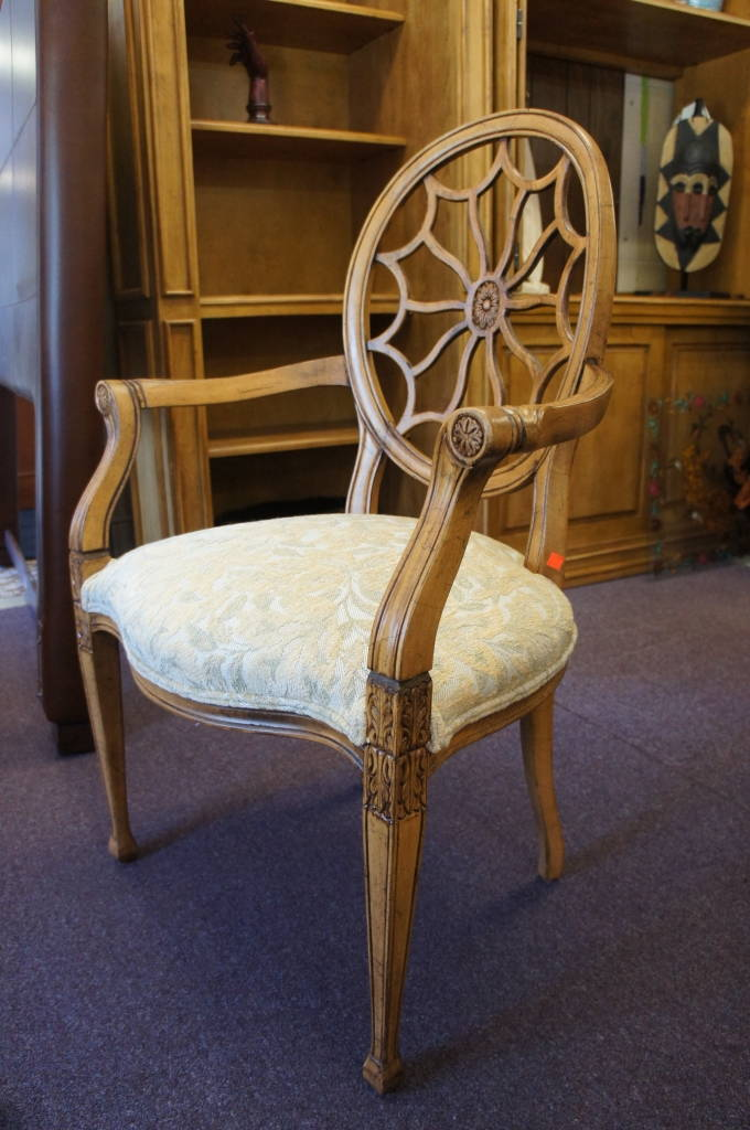 Spider Back Chair By Fairfield
