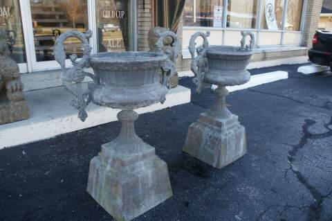 Unique  Large Antique Victorian Cast Iron Garden Jardiniere Urns Swan  With Hot  Large Antique Victorian Cast Iron Garden Jardiniere Urns Swan Handled  Planters With Endearing Camden To Covent Garden Also New York Botanical Garden In Addition Sleepers Garden And Garden Mahjong Game As Well As Gardening Company Names Additionally Bosch Garden Vacuum From Thedesignersconsignmentcom With   Hot  Large Antique Victorian Cast Iron Garden Jardiniere Urns Swan  With Endearing  Large Antique Victorian Cast Iron Garden Jardiniere Urns Swan Handled  Planters And Unique Camden To Covent Garden Also New York Botanical Garden In Addition Sleepers Garden From Thedesignersconsignmentcom